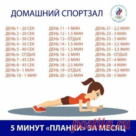 ЗАЧЕМ ДЕЛАТЬ ПЛАНКУ?  Знаменитое упражнение планка может заменить собой сразу целый сет физической активности для похудения. Планка одновременно укрепляет мышцы пресса и спины - в результате у тебя идеальная осанка Показать полностью…