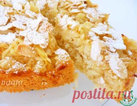 Легкий яблочный пирог – кулинарный рецепт