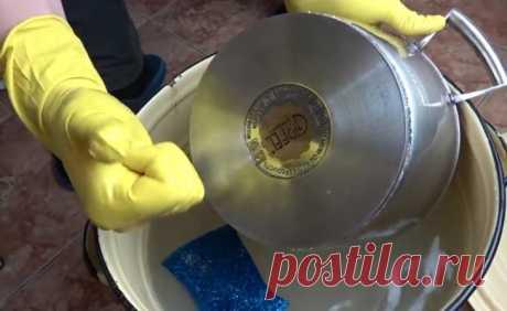 Как удалить старый нагар с посуды за 15 минут