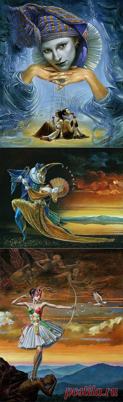 Интересные картины неизвестного художника | Искусство
