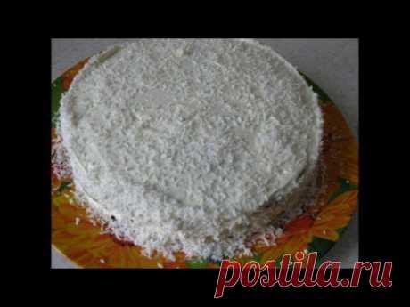Бисквит для торта готовим без яиц