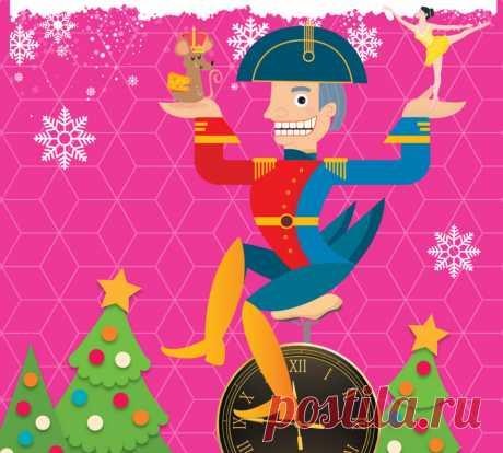 Накануне Рождества и Нового Года мы покупаем детям в подарок деревянного Щелкунчика, вешаем на елку орехи в золотой фольге, и мечтаем попасть в Большой театр, на балет Чайковского.