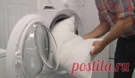Как постирать подушку в стиральной машинке, чтобы она осталась мягкой и безопасной - Квартира, дом, дача - медиаплатформа МирТесен