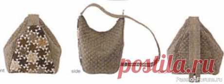 Сумка Hobo bag (сумка-бродяга). Выкройка | Швейная мастерская