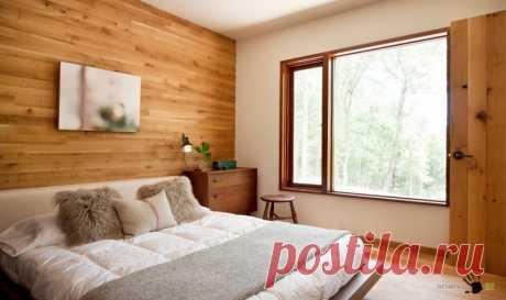 Спальня: практичная красота на 12 кв м — Мой дом