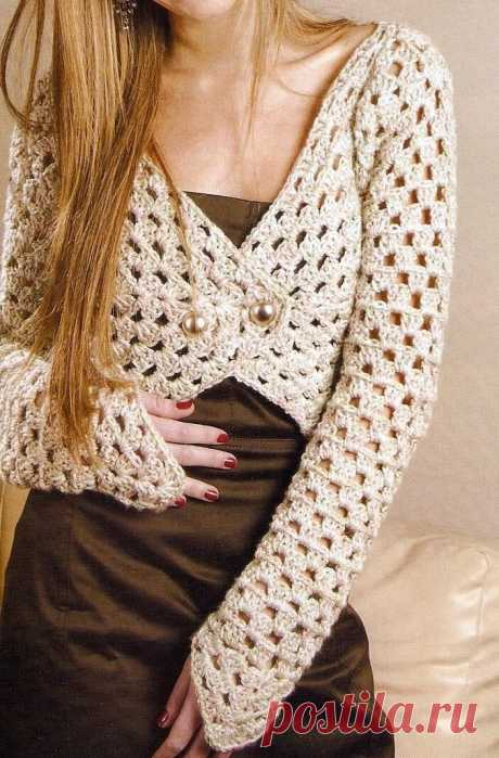 Коллекция женских жакетов и кардиганов крючком, со схемами узоров   Sana Lace Knit   Яндекс Дзен