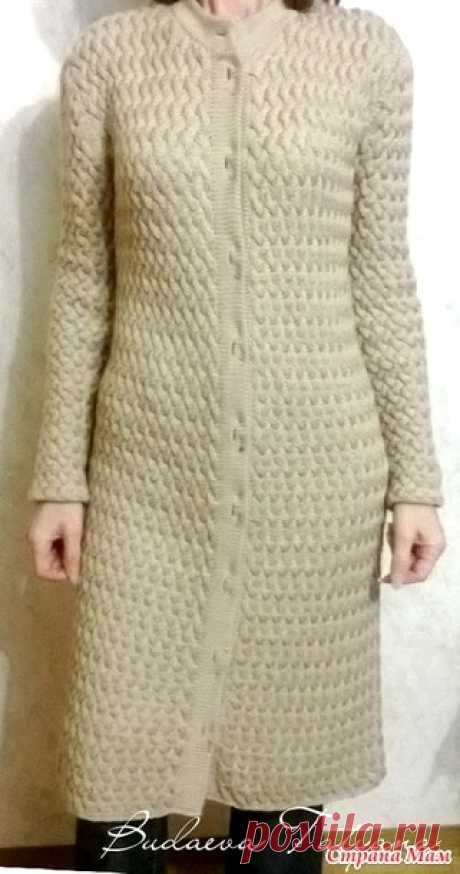 Шикарное теплое пальто