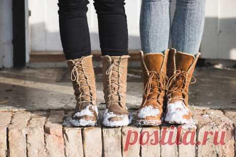 Какую обувь носить зимой