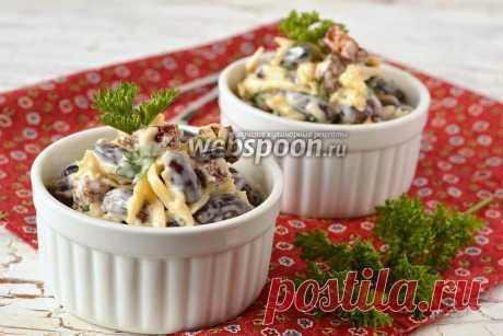 Салат с фасолью и сухариками рецепт с фото на Webspoon.ru
