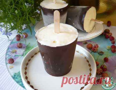 Домашний сливочный пломбир в шоколаде – кулинарный рецепт