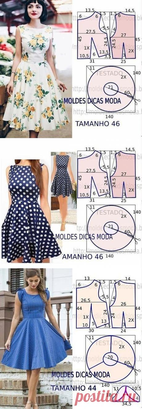 10 patterns of summer dresses!!