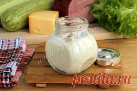 Сливочно сырный соус