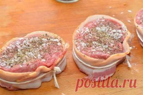 Как приготовить медальон из говядины - рецепт, ингридиенты и фотографии