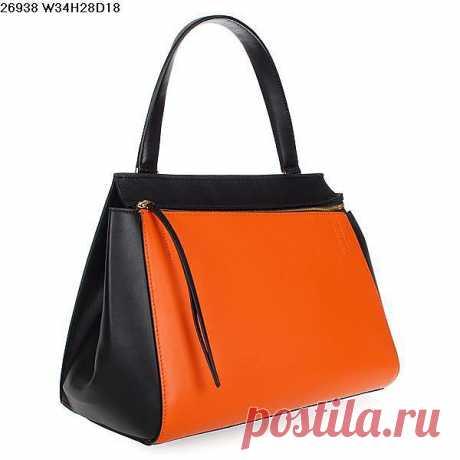 К оранжевому цвету у меня тоже последнее время любовь :) Присматриваюсь к таким сумкам