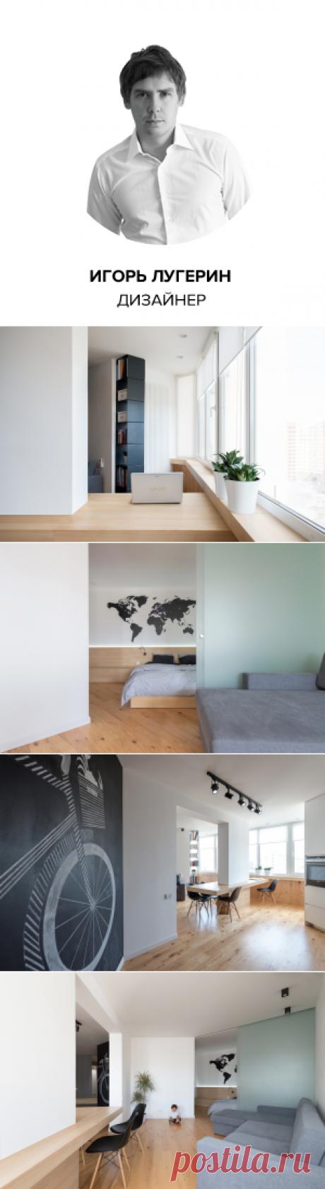 Студия недели: квартира в стиле минимализм в Киеве   Свежие идеи дизайна интерьеров, декора, архитектуры на InMyRoom.ru