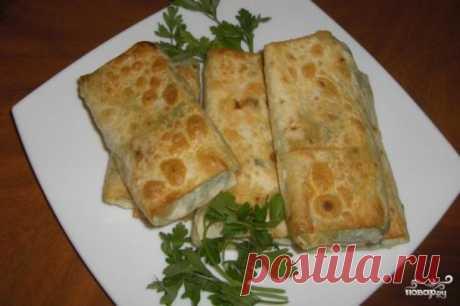 Лаваш с зеленью - пошаговый рецепт с фото на Повар.ру
