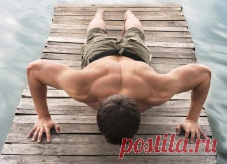 Как научиться отжиматься несколько десятков раз   Men's Health   Яндекс Дзен