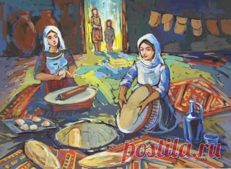 Հաց հանապազօրյա...🧡  -Տաշտներըդ լի հաց լինի, Դուռներըդ միշտ բաց լինի - Ջաղացիդ միշտ հերթ լինի, Մեջքըդ ամուր բերդ լինի․․․(Հովհ.Թունսնյան/« Մարոն»)  «Շնորհ անես, գաս մեր հացը կտրես», «Խեղճ աղքատի հոգին դուրս գա, քարից, հողից հաց քամի…»: Իրեն ու ժողովրդին հարգող ու սիրող մարդը չի կարող չսիրել ու չգնահատել մի կտոր հացը, դողալ անգամ փշրանքի համար,… Հայս` օջախդ միշտ շեն լինի,սեղանդ միշտ լի լինի...սիրտդ պարզ, հոգիդ էլ խաղաղ լինի: ԱՍՏԾՈ ԿԱՄՈՔ ԹՈՂ ՇԵՆԵՐԸ ՇԵՆԱՆԱՆ ՏԱՔ ՀԱՑՈՎ ԹՈՆՐԻ