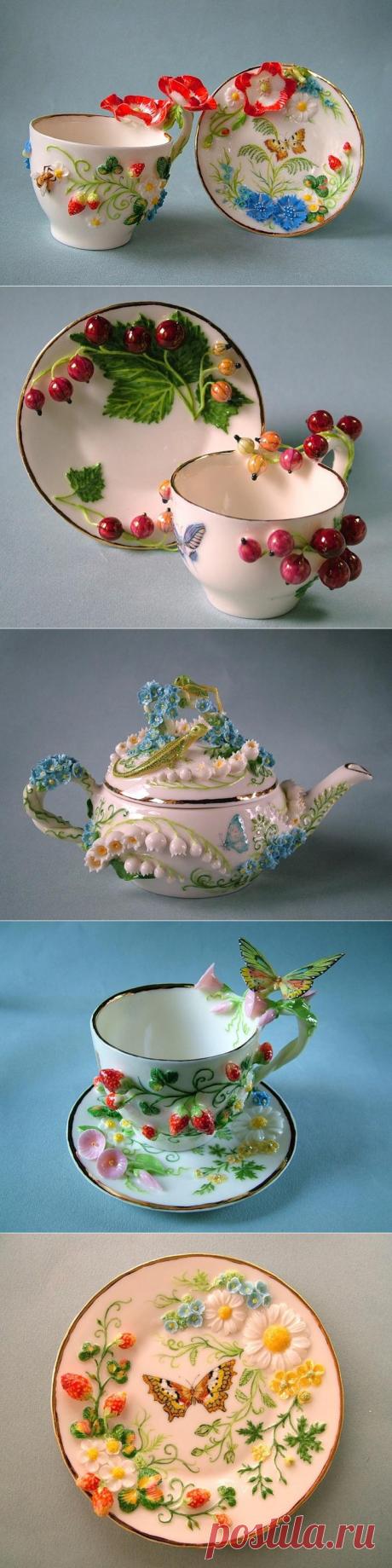 Porcelain, molding, list