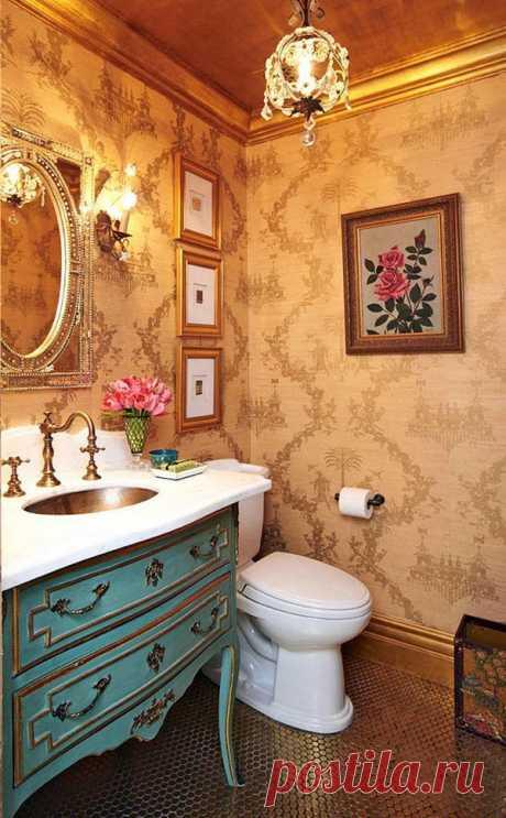 Обои для отделки санузла — Интерьер и Декор
