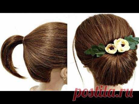 Быстрая Прическа на Короткие волосы. СДЕЛАЕТ КАЖДЫЙ. Quick Hairstyle for Short Hair.EVERYONE WILL DO