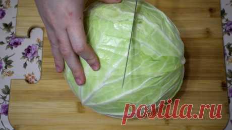 Салат из капусты с необычной подачей: сытно, вкусно и доступно - Идеи для жизни - медиаплатформа МирТесен