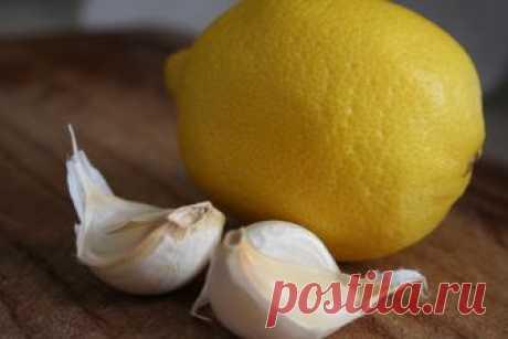 Лимон и чеснок – лучшее средство для похудения и омоложения крови