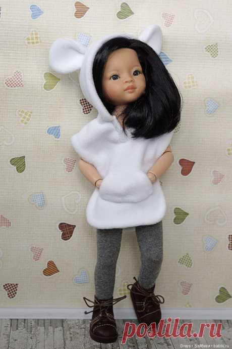 Выкройка забавной туники для кукол формата Paola Reina 32-34 см / Выкройки одежды для кукол-детей, мастер классы / Бэйбики. Куклы фото. Одежда для кукол
