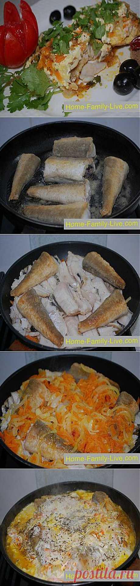 Рыба в молочном соусе