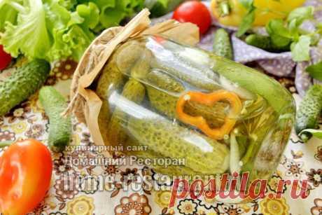 Огурцы, Маринованные с Лимонной Кислотой (без стерилизации) - Домашний Ресторан