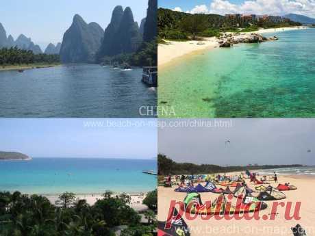 TOP32: Лучшие пляжи Китая - Июнь 2017 - Beach-on-Map.ru