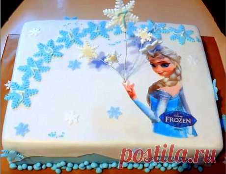 торт холодное сердце Эльза для девочек и 15 похожих рецептов: видео, фото, калорийность, отзывы - 1000.menu