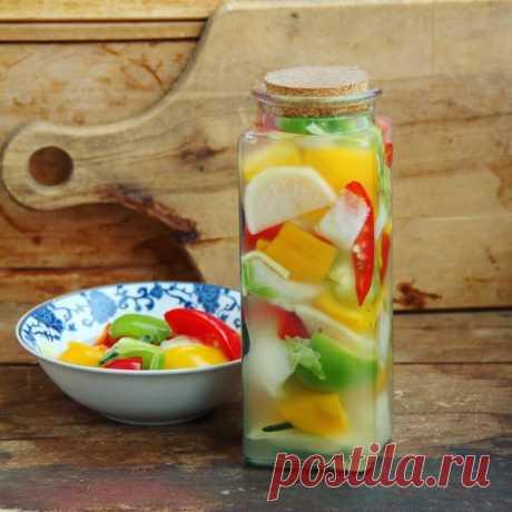 Кимчи из сладкого перца на воде (파프리카물김치) - ktaara — ЖЖ