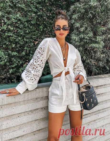 30 летних кэжуал блузки из шитья (подборка) Модная одежда и дизайн интерьера своими руками