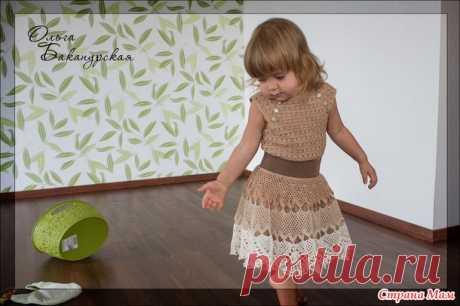 El juego adornado del Iris: la falda y top - la Labor de punto para los niños - el País de las Mamás