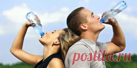 How many waters need to be drunk to be healthy?
