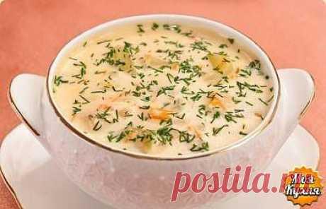 Сырный суп     ☕➩➩➩...Показать Полностью.