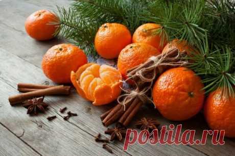 У каждого мандарина под шкуркой маленький Новый год)