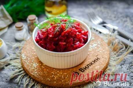 Салат из свеклы «Пальчики оближешь» - минимум ингредиентов и столько же усилий | Вилкин 👩🍳: рецепты и лайфхаки | Яндекс Дзен