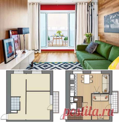 Дизайн маленьких квартир: 8 оригинальных идей