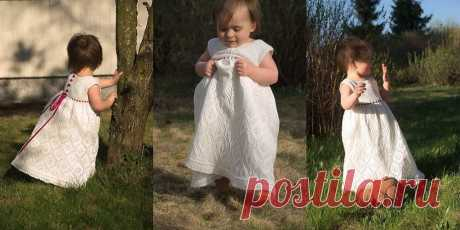 Красивое детское платье Song of the Spruce - Вяжи.ру