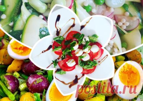 Легко, полезно, вкусно: необычные летние салаты – на бэби.ру!