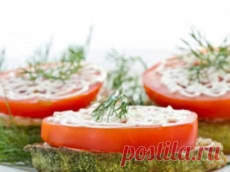 Закуска из кабачков и помидоров с сыром: bt.tark-news