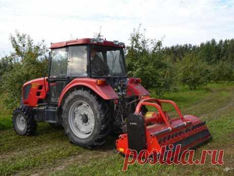 Косилка-измельчитель молотковая роторная навесная Технос MU Профи для сада для трактора МТЗ т25 и т40 купить в РБ