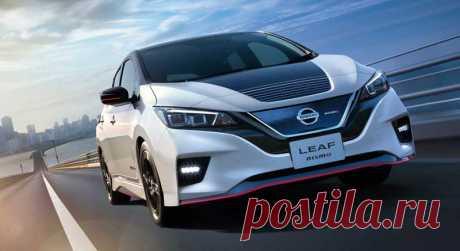 Электрокар Nissan Leaf Nismo 2020 характеристики