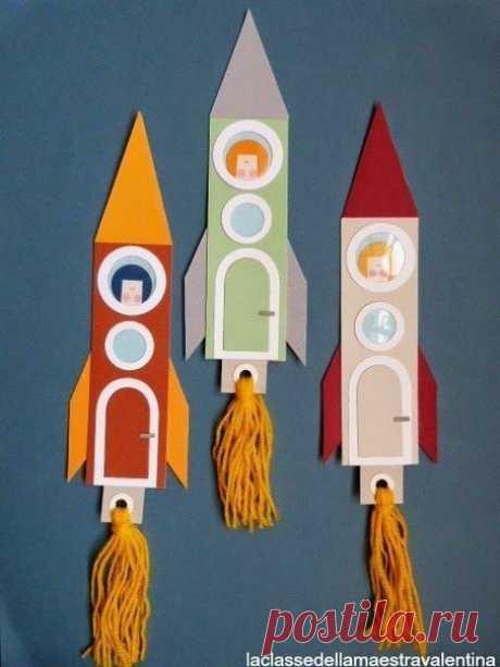 Ракета — Поделки с детьми
