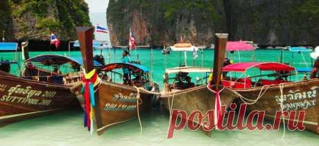 Водный транспорт в Тайланде - паромы и лонгтейлы