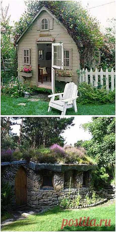 Зеленые крыши в вашем саду: 12 идей с мастер-классом - Учимся Делать Все Сами