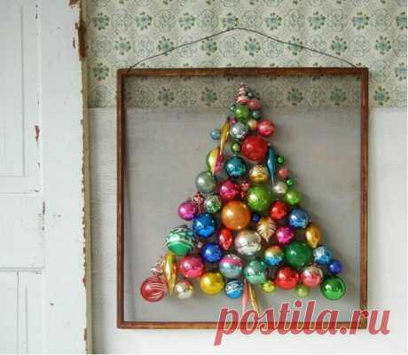 Необычная елка своими руками: как сделать новогодние елки из подручных материалов