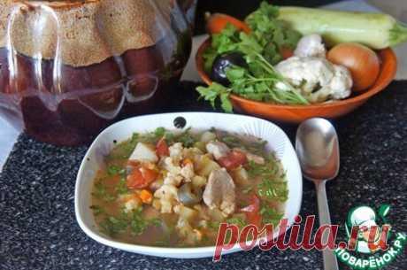 """Осенний суп """"Горшочек, вари!"""" – кулинарный рецепт"""